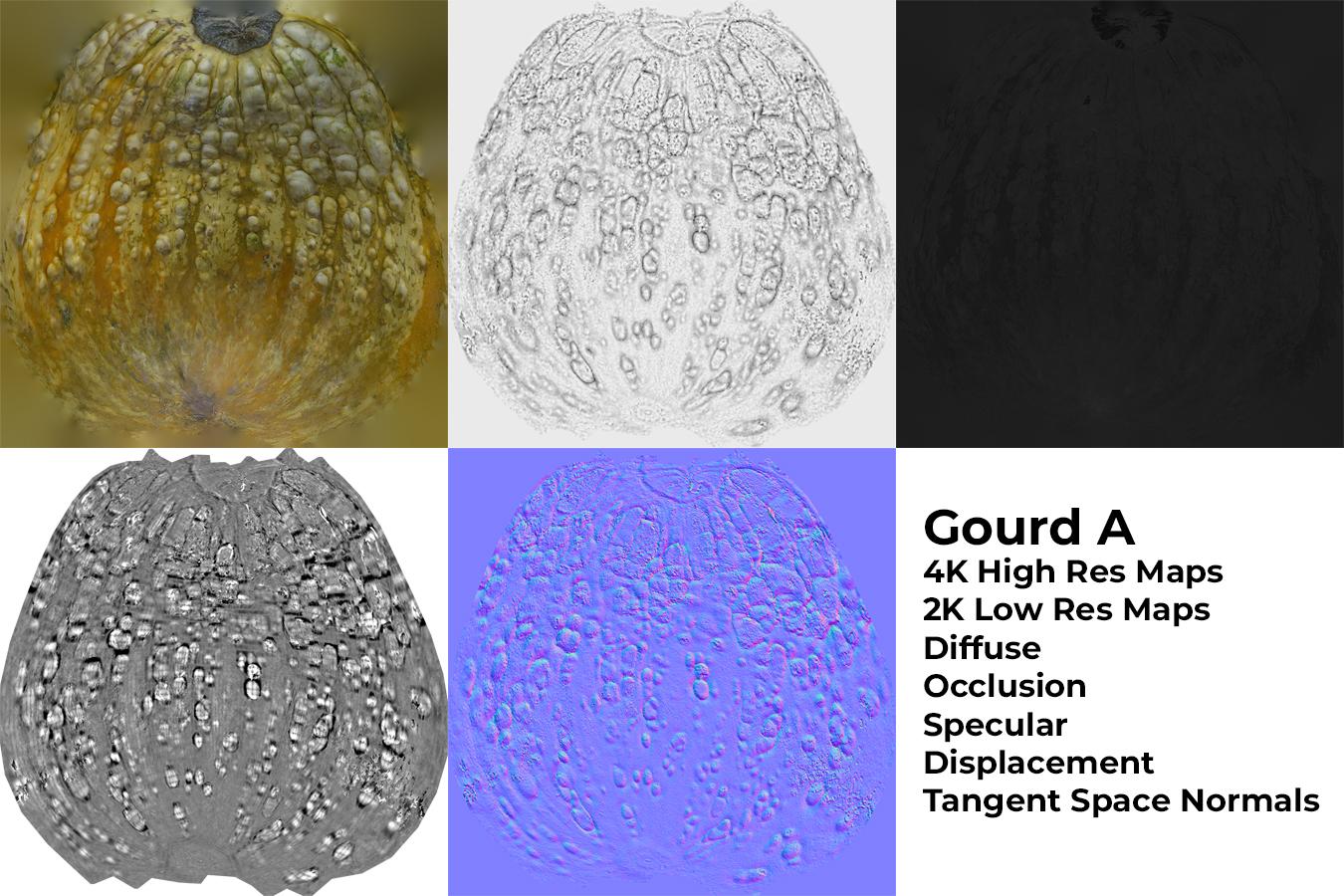 Gourd A Materials