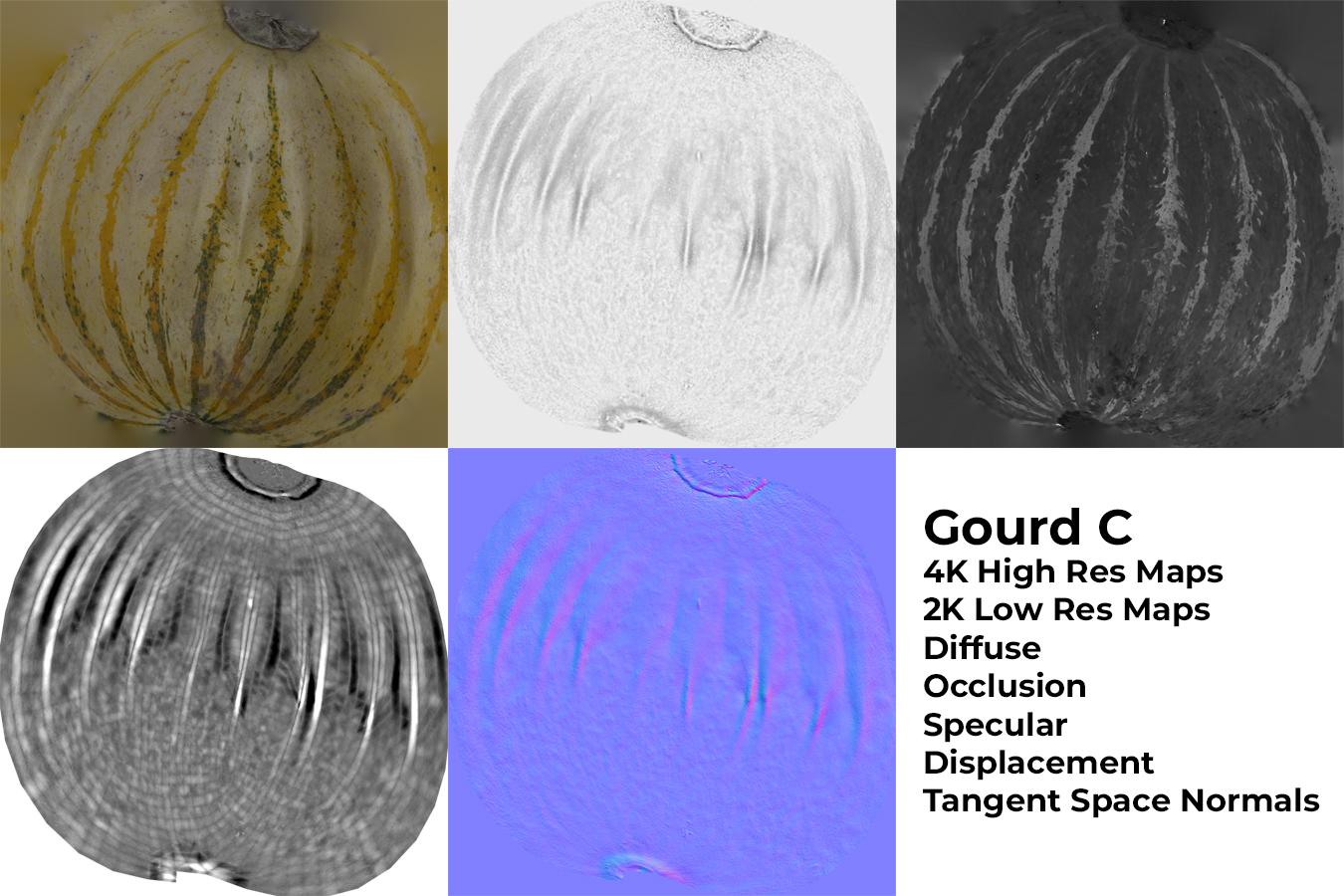 Gourd C Materials