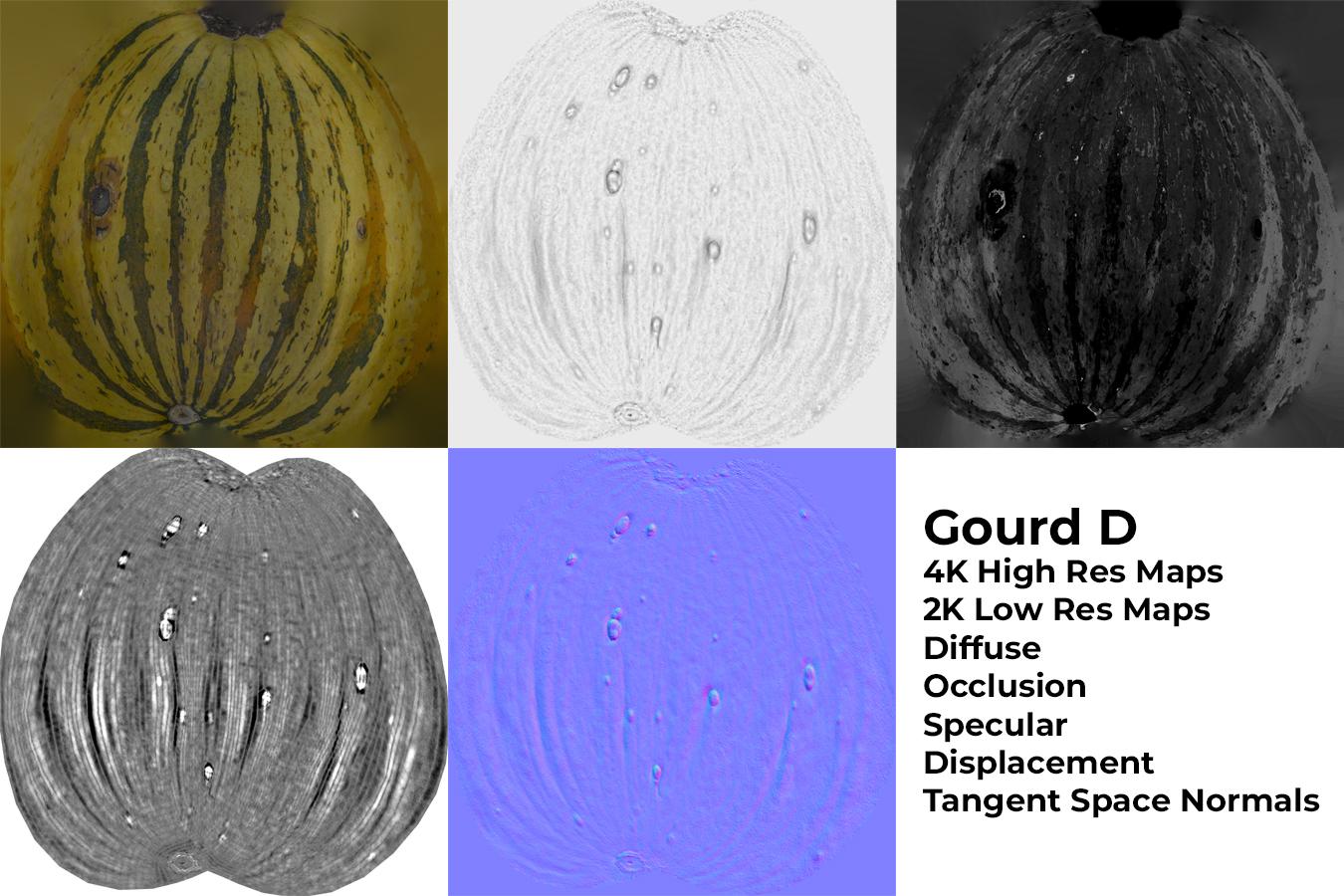 Gourd D Materials