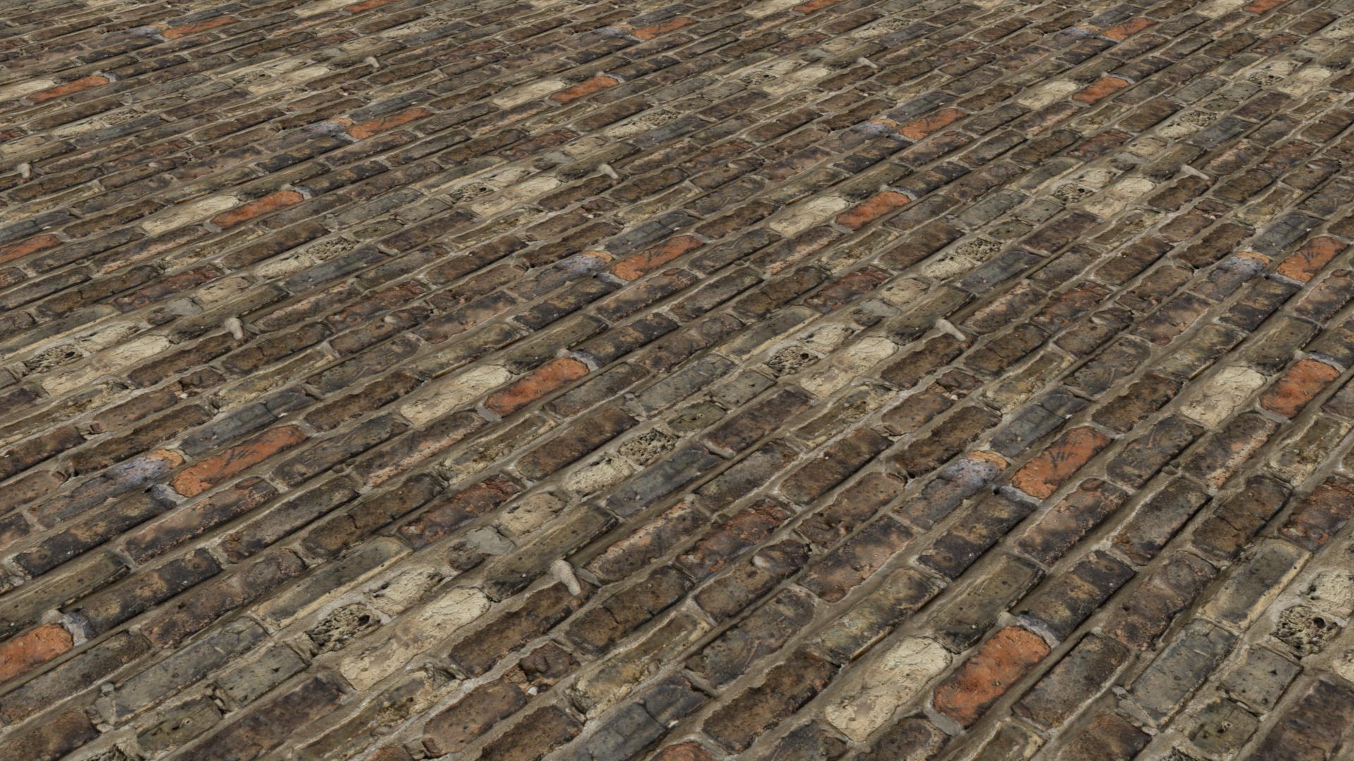 Bricks Old Dark Flat