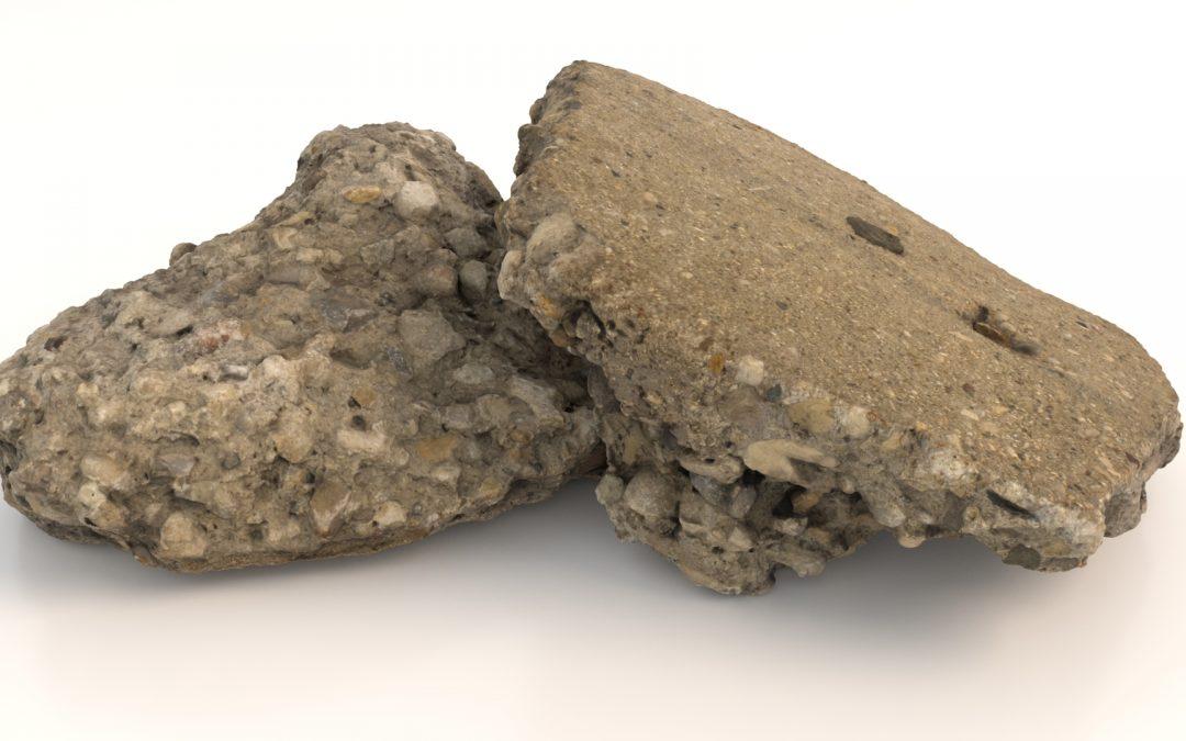 CG Object 001 – Concrete Debris