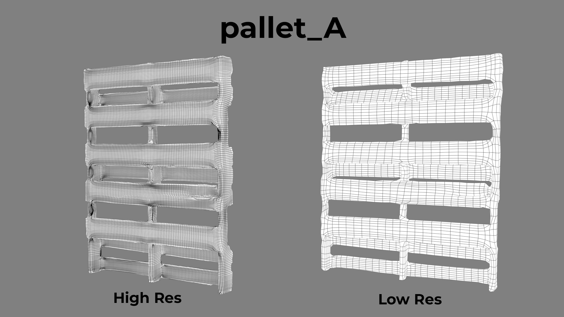 Pallet A Wireframe