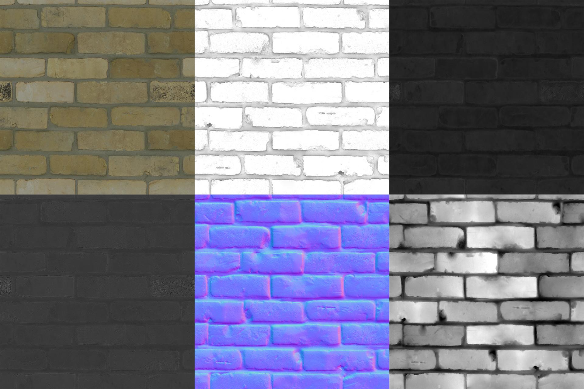 Bricks Light I Material Parade